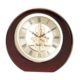 River City Clocks Skeleton Gear Gold Dial Wall Clock   7.8 in. Wide   Wall Clocks