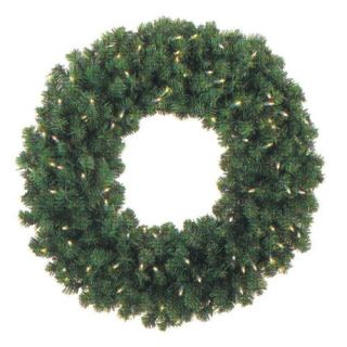 48 in. Pre lit Christmas Wreath   Christmas Wreaths