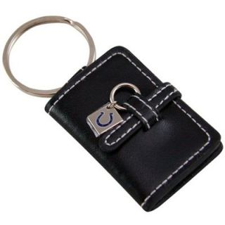 Indianapolis Colts Black Leather Photo Album Keychain