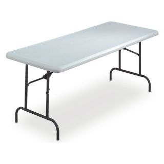 Iceberg 1200 Series Commercial Grade Table   30 x 72   White   Banquet Tables