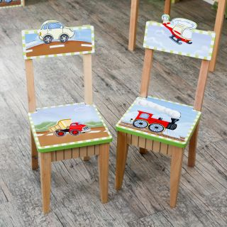 Teamson Design Transportation Set   2 Chairs   Kids Tables and Chairs