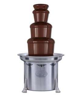 Sephra 23 Inch Stainless Steel Commercial Chocolate Fountain   Chocolate Fountains