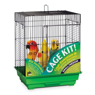 Prevue Pet Products Square Top Bird Cage Kit   Bird Cages