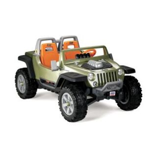 Fisher-Price Power Wheels Battery Operated Ultimate Terrain Traction Jeep Hurricane Riding Toy   Battery Powered Riding Toys