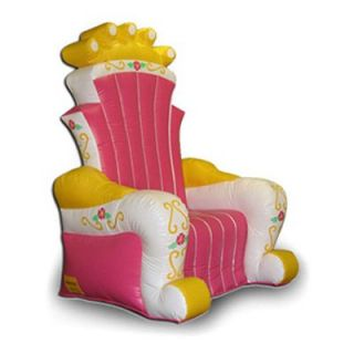 EZ Inflatables Inflatable King Chair Bounce House   Commercial Inflatables