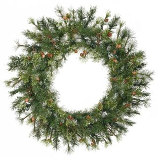 36 in. Mixed Country Pine Unlit Christmas Wreath   Christmas Wreaths