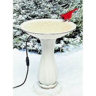 Heated Bird Bath & Cleaning Kit Package   Bird Baths