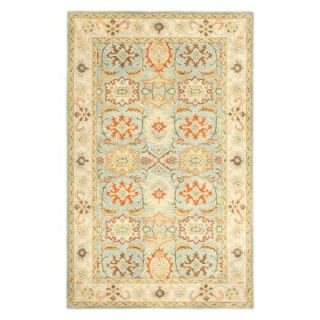 Safavieh Heritage HG734A Area Rug   Light Blue/Ivory   Area Rugs