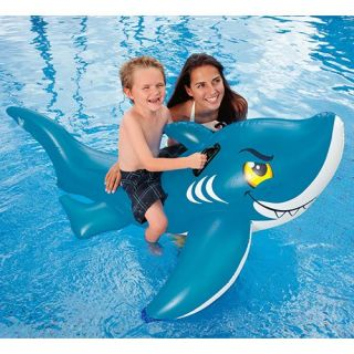 Intex Friendly Shark Ride On   Swimming Pool Floats