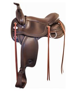 Tex Tan Flex Franklin Leather Trail Saddle   Western Saddles and Tack