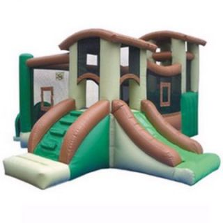 Kidwise Clubhouse Climber Interactive Bounce House   Commercial Inflatables