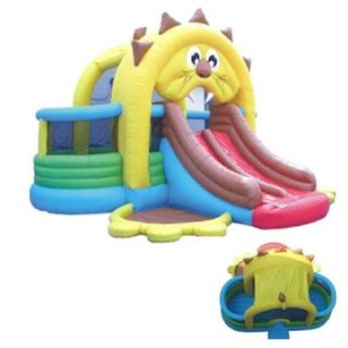 Kidwise Lion's Den Bounce House and Slide   Commercial Inflatables