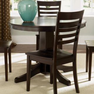 Liberty Furniture Cafe Collections Merlot Round Pub Table   Dining Tables