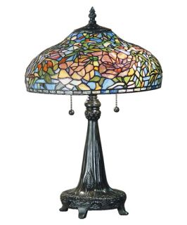 Dale Tiffany Peony Table Lamp   Table Lamps