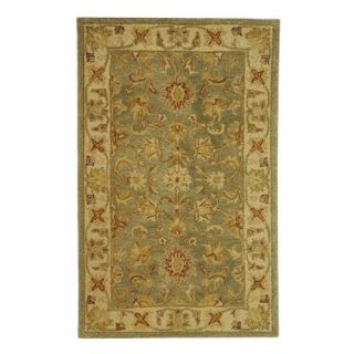 Safavieh Antiquities AT313A Area Rug   Green/Gold   Area Rugs