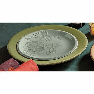Tag Slate Harvest Market Grapes Lunch Plates   Set of 4   Fall