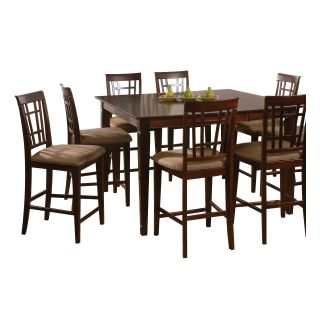 Deco 9 Piece Counter Height Table Set   Dining Table Sets