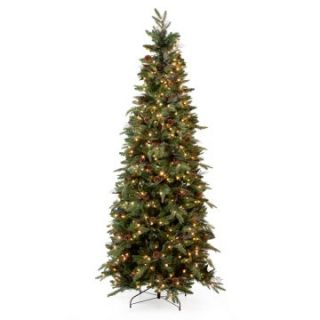 Green River Spruce Slim Pre lit Christmas Tree   Christmas Trees