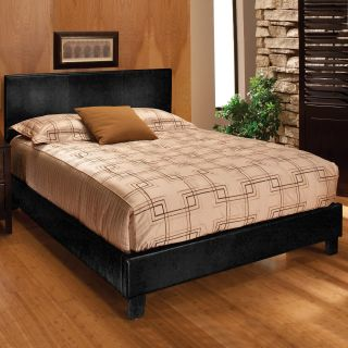 Harbortown Low Profile Upholstered Bed   Black   Low Profile Beds