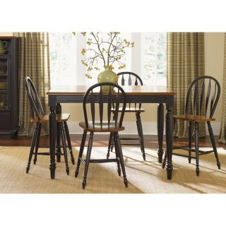 Liberty Furniture Low Country Black Counter Height Table   Dining Tables