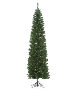 Winchester Pine Pre lit Christmas Tree with Metal Base   Christmas Trees