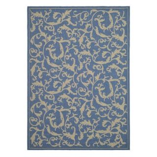Safavieh Courtyard CY2653 Area Rug Blue/Natural   Area Rugs