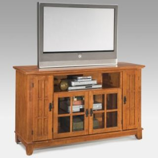 Home Styles Arts & Crafts Entertainment Credenza   Cottage Oak   TV Stands