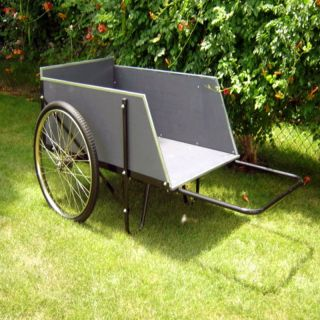 Mid West Heavy Duty Wooden Cart   Garden Carts