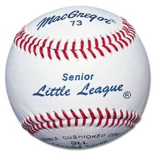 MacGregor No.73C Senior Little League Baseballs   1 Dozen   Balls
