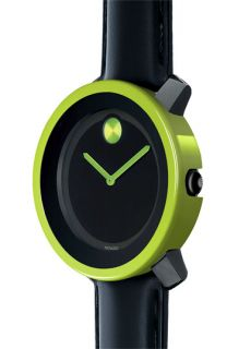 Movado Large Bold Watch & Green Case Cover