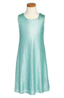 Zunie Sequin Tank Dress (Big Girls)