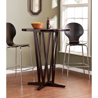 Upton Home Hubert Dark Espresso Bar Table Upton Home Bar Tables