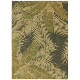 Tommy Bahama Carnival Palms Ocean Rug (3'6 x 5') Tommy Bahama 3x5   4x6 Rugs
