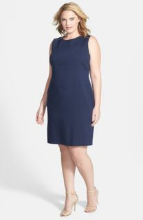 Anne Klein Sleeveless Sheath Dress (Plus Size)