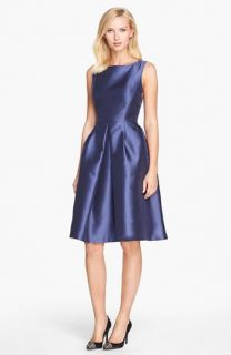 Isaac Mizrahi New York Satin Fit & Flare Dress