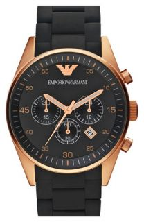 Emporio Armani Rose Gold Watch, 43mm