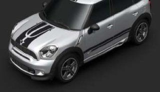 MINI Cooper Countryman Sport Stripes Black 2011 2012 Automotive