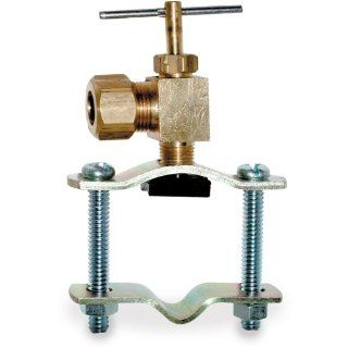 Smith Cooper International 185 Series Brass Saddle Valve, T Handle, Self Piercing