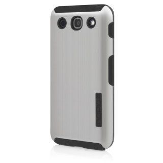 Incipio LGE 187 DualPro Shine Case  for the LG Optimus G Pro   1 Pack   Retail Packaging   Silver/Black Cell Phones & Accessories