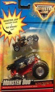 Hot Wheels Monster Jam Monster Duo Boneshaker, 164 Scale. Toys & Games