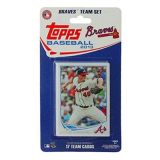 Atlanta Braves 2013 Team Collectible Trading Card Set