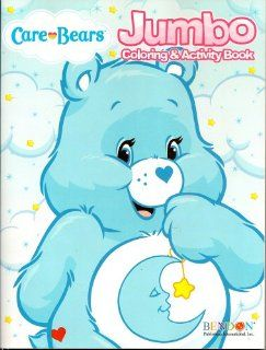 Care Bears Jumbo Coloring & Activity Book ~ Bedtime Bear (96 Pages)