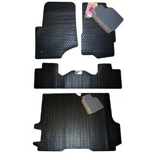 GMC Envoy Denali Standard All Weather Floor Mats Black 2002 2003 2004 2005 2006 2007 2008 2009 IN Stock Automotive