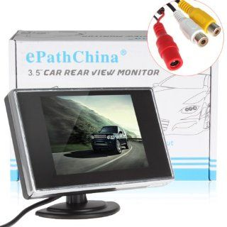 3.5 Inch TFT LCD Mini Monitor with Pocket sized Color LCD Display for Car/Automobile Rearview Mirro Monitor