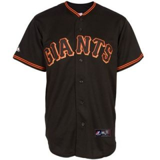 Majestic San Francisco Giants Black Baseball Jersey