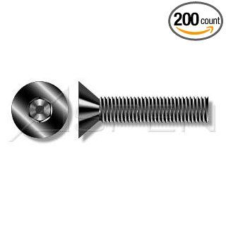 (200pcs per box) Metric DIN 7991 M5 0.8 X 50 Flat Head Hex Socket Cap Screws Stainless Steel A2 Ships FREE in USA