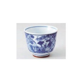 teacup kbu535 17 202 [2.68 x 2.21 inch] Japanese tabletop kitchen dish Take small green tea between mouth thousand tea depth Sansui 2.3 [6.8 x 5.6cm] inn restaurant tableware restaurant business kbu535 17 202 Kitchen & Dining