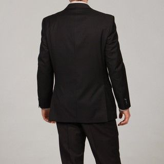 Marc Ecko Men's Black Two button Suit Marc Ecko Suits