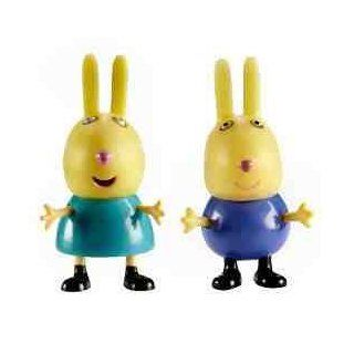 Peppa Pig Richard & Rebecca Rabbit Two Figure Pack Toys & Games