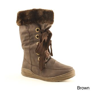 Women's 'Rene 01' Faux Fur lined Boots Boots